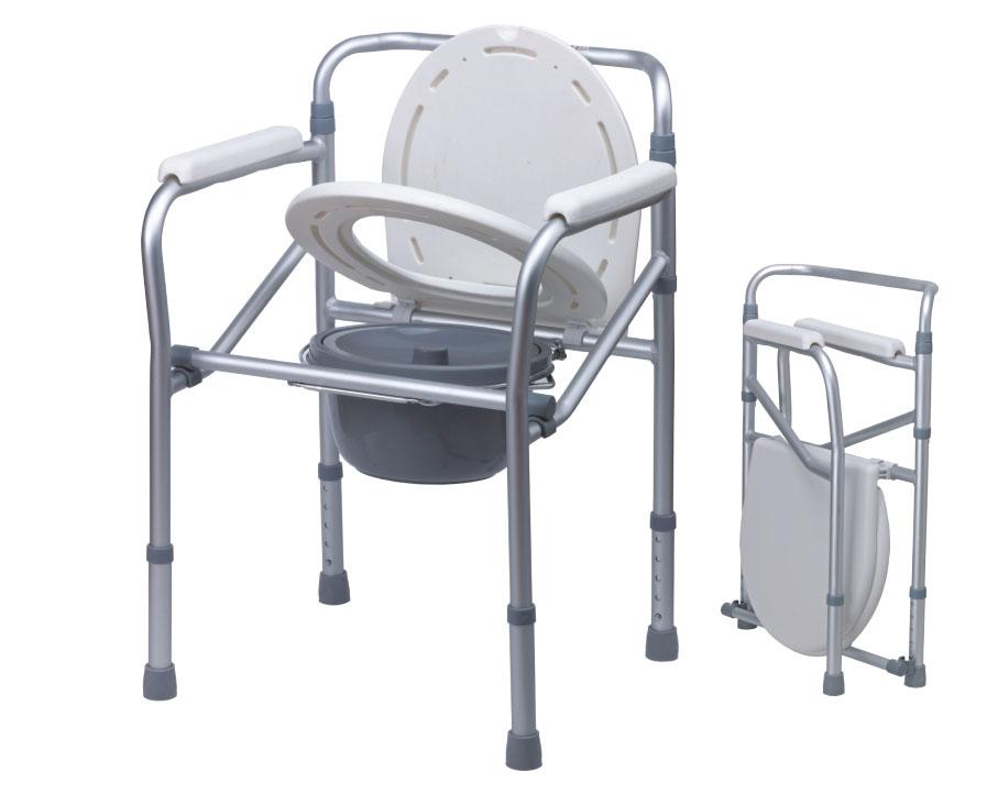 Κάθισμα Τουαλέτας Πτυσσόμενο Αλουμινίου